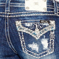 Miss Me Junior's Boot Cut Jeans