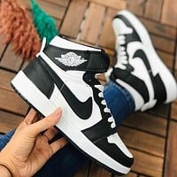 Nike AIR Jordan 1 all-star basketball shoes AJ1 fashion men's and women's board shoes high-top casual sports shoes  6
