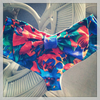 Bow Back Cheeky Brazilian Bikini Bottom by HIPPYxCHIC on Etsy