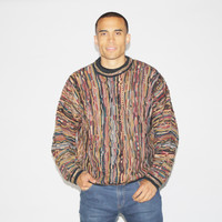 1990s Coogi Style Hip Hop Cosby Sweater