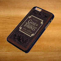 Game of Thrones Inside HBO For iPhone 6 Plus Case *76*