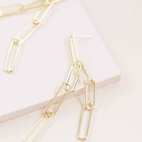 Join Up Link Earrings