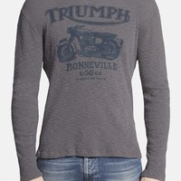 Men's Lucky Brand 'Triumph' Graphic Waffle Knit