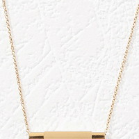 Two-Tone Pendant Necklace - Womens accessories, jewellery and bags | shop online | Forever 21 - Jewellery - Necklaces - 1000141917 - Forever 21 EU English