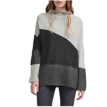 French Connection Color-Block Sweater Size L