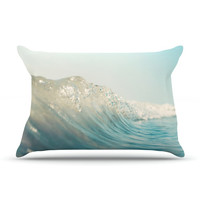 "Bree Madden ""The Wave"" Fleece Pillow Case - Outlet Item"