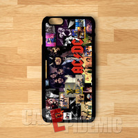 ACDC Collage - zDD for iPhone 4/4S/5/5S/5C/6/6+,Samsung S3/S4/S5/S6 Regular,Samsung Note 3/4