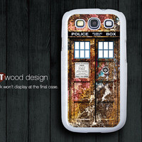 Doctor Who metal house Samsung phone case Galaxy SIII case Case Samsung Case Galaxy S3 i9300