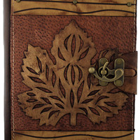 5x7 Medium Leather Journal with Latch