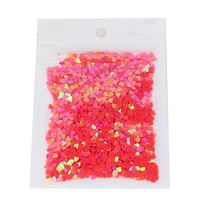 10g piece Hot Sale Acrylic Nail Kit UV Gel Heart Nail Glitter Dust 3D Nail Art Tip Decorations Beauty Make Up Nail Stikcers WY14