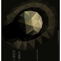 Early Bird Sale Saturn and its Moons // A Space Exploration and Science Education Data Chart of Planetary Missions // Tan and Gray Low Poly
