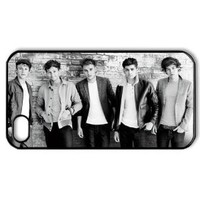 Bereadyship CTSLR Music & Singer Series Protective Hard Case Cover for iPhone 4 & 4S - 1 Pack - One Direction - We Are Together 5