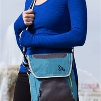 Anti-Theft iPad/Tablet Messager Bag (Available in Black or Teal)