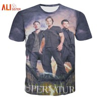 Alisister Printed Supernatural T Shirt