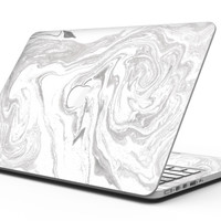 Mixtured Gray v6 Textured Marble - MacBook Pro with Retina Display Full-Coverage Skin Kit