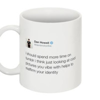 Youtuber Dan Howell Tweet Mug