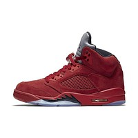 Air Jordan Retro 5 V 'Red Suede' All sizes