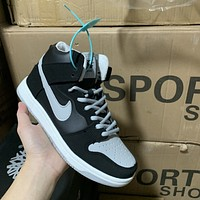 Nike SB Dunk High casual, simple and versatile sneakers shoes
