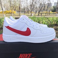 Nike Air Force 1 Low-Top Men's and Women's Sneakers Shoes