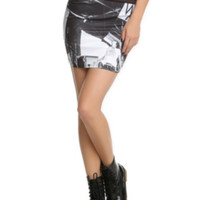 Sleeping With Sirens Live Contour Skirt