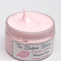 Cotton Candy Whipped Soap In A Jar 4 ounce