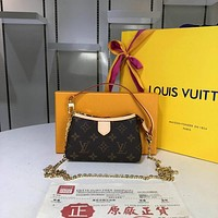 lv louis vuitton women leather shoulder bags satchel tote bag handbag shopping leather tote 246