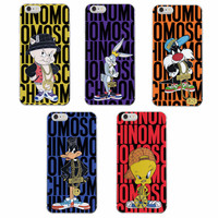 2016 Cute Fashion Bug Bunny Tweety Bird Loony Tunes Soft Tpu Phone Case For iPhone 7Plus 7 6Plus 6 S 5 S 5C SE 4 Samsung Galaxy