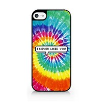 I Never Liked You - Tie Dye - Speech Bubble - Sassy Quote - iPhone 6/6S Black Case (C) Andre Gift Shop