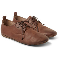 Marsell - Washed-Leather Derby Shoes | MR PORTER
