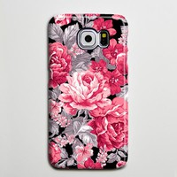 Floral Red Roses Flowers Galaxy S8 Plus Case Galaxy S7 Case Samsung Galaxy Note 5  Phone Case s6-018
