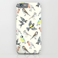 Illustrated Birds iPhone & iPod Case by Tangerine-Tane | Society6