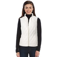 Croft & Barrow Quilted Puffer Vest - Petite, Size: