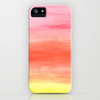 SUNSET iPhone & iPod Case by Lauren Lee Designs