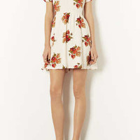 Autumn Floral Tea Dress - New In This Week  - New In
