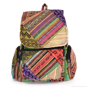 Patch Me If You Can Backpack Assorted on Sale for $24.99 at The Hippie Shop