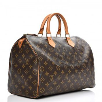 LOUIS VUITTON Vintage Monogram Speedy 35
