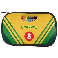 Crayon Box Makeup Bag