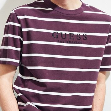 GUESS Doheny Stripe Tee   Urban Outfitters
