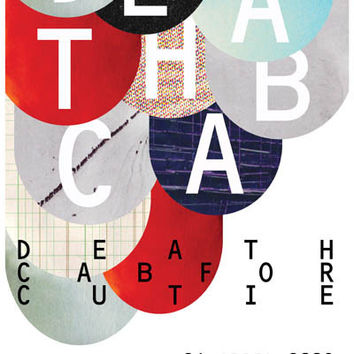 Death Cab For Cutie Narrow Stairs Poster 11x17