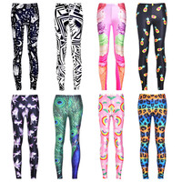 Womens Trendy Cool Design Hip Leggings
