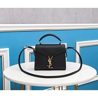 ysl women leather shoulder bags satchel tote bag handbag shopping leather tote crossbody satchel 1