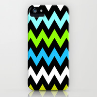 Zigzag #13 iPhone & iPod Case by Ornaart