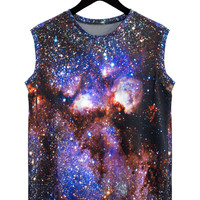 Milky Way Galaxy Tank