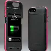 i-Blason PowerPack iPhone 5 Rechargeable External Battery Glider Full Protection Case with Micro 5 Pin USB Charging Port - AT&T, Sprint, Verizon (Pink): Cell Phones & Accessories