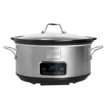 Frigidaire Professional 7 qt. Programmable Slow Cooker FPCP07D7MS at The Home Depot - Mobile