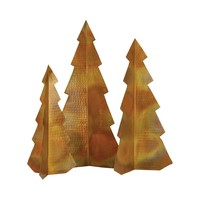 Rustique Christmas Trees (Set of 3)