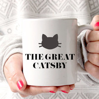 Cute The Great Catsby Coffee Mug - Tea cup - wedding gift - Bridal Shower - coffee cup - cute brides gift - birthday present