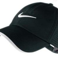 Nike One Victory Red 2010 Preforated Golf Cap Hat New Latest Black
