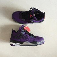 Air Jordan 4 Retro Purple Men Sneakers - Best Deal Online