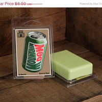MOUNTAIN DEW scented Soap - Geeky Gifts and Nerdy Soaps for men and women  - Food Scented Soaps